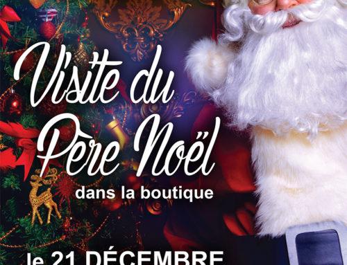 Visite du Père Noël le 21 décembre 2019 !