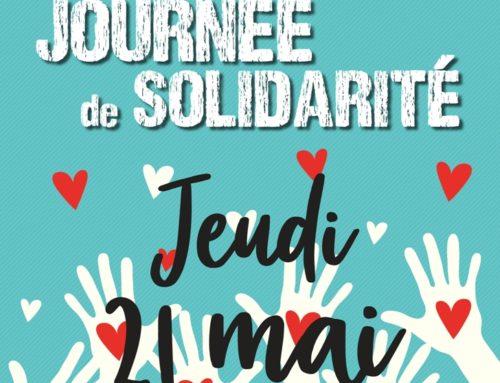 Nous serons ouverts le jeudi 21 mai pour la Journée de Solidarité 😀💪